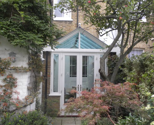Hardwood Conservatory, West London outside shot 1
