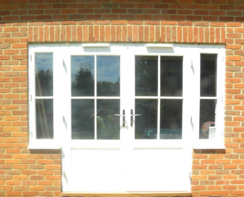 Hardwood Door supplied for a customer in Liss, Hampshire
