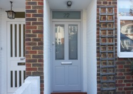 Hardwood door West London