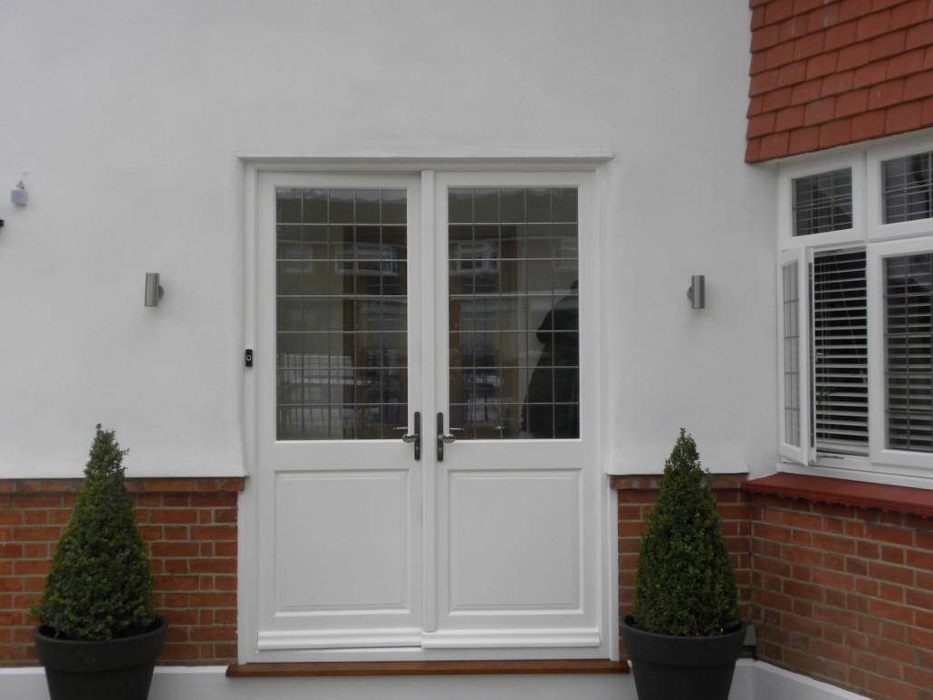 Hardwood Doors Installed in Bromley