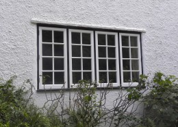 Ground floor hardwood windows by Joinery for All Seasons job in Surrey