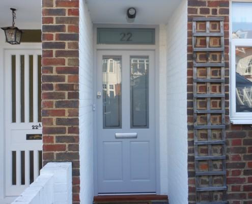 Hardwood door West London