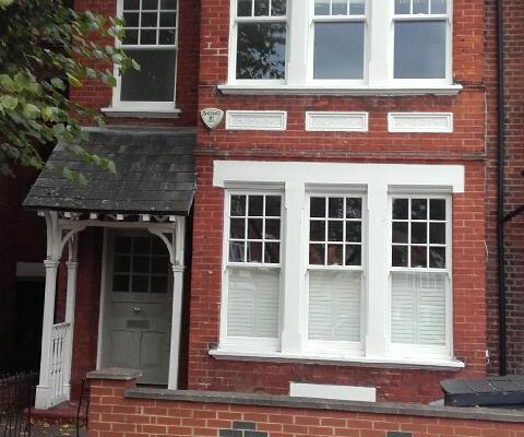 Sliding Sash Windows, West London